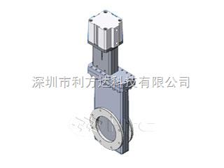 ISO法兰有软管气动高真空闸阀-ISO法兰有软管气动高真空闸阀