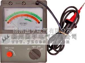 指针式高压绝缘电阻测试仪