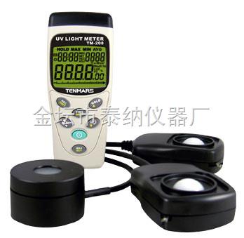 208-太陽光功率測試儀(光照度/太陽功率/紫外線三合一)