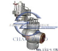 T960H電動焊接給水回轉調節閥
