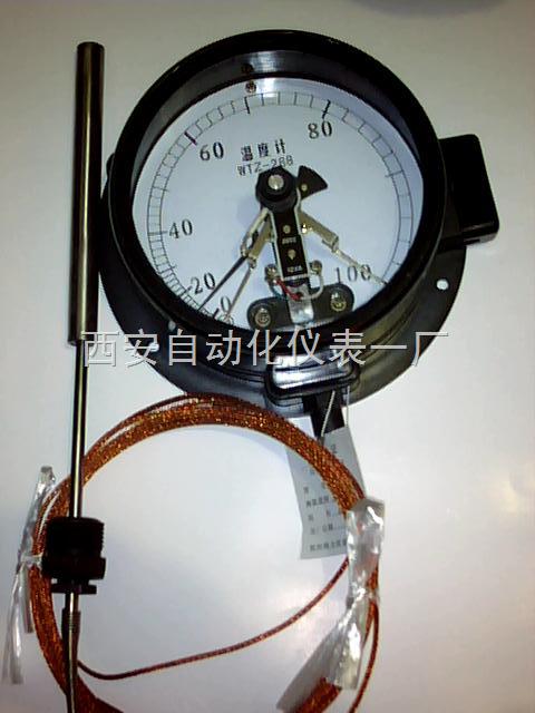 全不锈钢电接点压力式温度计