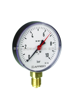 进口压力表  进口弹簧管压力表