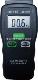 DEREE台湾得益DE-1007电磁波强度测试仪高斯计辐射测试仪